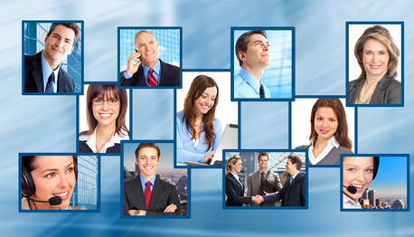 Business people. Business team, vos clients